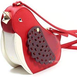 Kate Spade oh la la bird crossbody bag